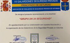 Reconocimiento a DN en la VII edición de los Galardones de Seguridad Privada Asturias 2021
